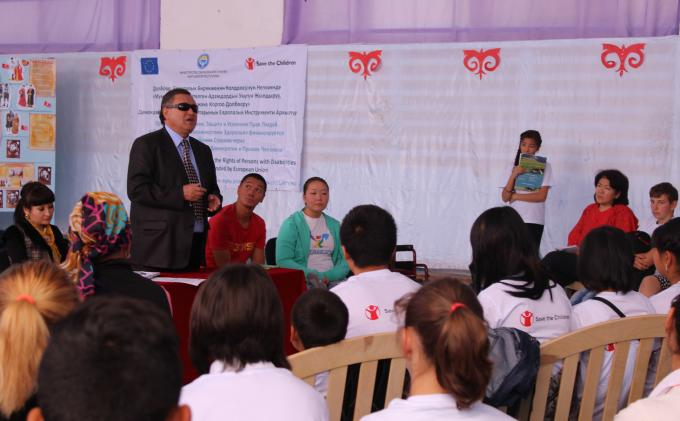 Enhance participation of children with disabilities with successful testimonials in kyrgyzstan - Save the children press office ...